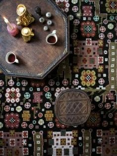 earthy, eccentric, eclectic, pattern, color, hippy, dusty, mauve