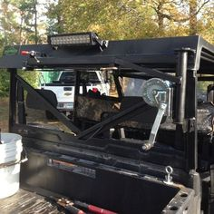 Hey guys, I just purchased a 2015 Ranger 900 Camo Crew after selling my 2008 Ranger 700 Crew. My game hoist that I had made for the 2008 Crew served it's. Electric Off Road Vehicle, Polaris Off Road, Utv Accessories, Hog Hunting, Hunting Tips, Ar Build, Polaris Ranger, Outdoor Gear, Atv News