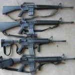 M16A1, M16A2, M4, M16A4NATO 5.56