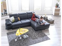 XOOON Couche Arhus, + longchair - lounge-function + box right Long Chair, Lounge, Doll Furniture, Place, Sweet Home, Couch, Living Room, Luxury, Design