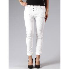 Selling this trendy boyfriend jeans by Italian designer brand PLEASE   59,90€  http://www.maedchenflohmarkt.de/please-chino-boyfriend-jeans-p78-weiss-in-medium-m-neu/485744.html