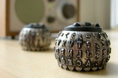 IBM Selectric type ball...  This is the electric typewriter I learned to type on!