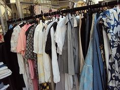 Blue Linen vintage- found in the Green Room at Frock Me, Chelsea Town Hall.  Also at Portobello market on Friday