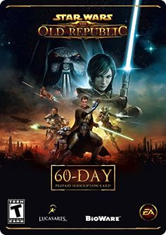 BUY NOW Star Wars: The Old Republic 60-Day Pre-paid Time Card [Online Game Code] The 60-Day Pre-Paid Game Time Code gives you