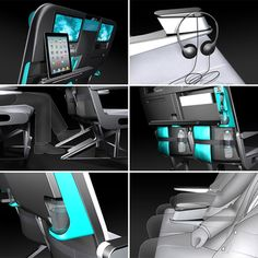 Paperclip Design LTD's Airplane Interior Design Innovations, Part 2: The Meerkat Seat Concept Addresses Modern-Day Passenger Needs