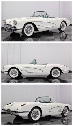 A blast from the past with this stunning Chevy Corvette #ThrowbackThursday