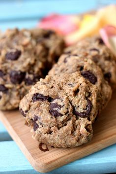 chocolate chip bean cookies