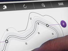 Dribbble - McLaren UI Explorations... by Thomas Moeller