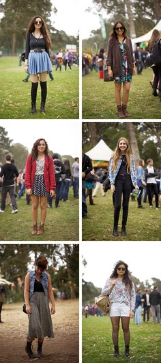 Outside Lands Festival in San Fran