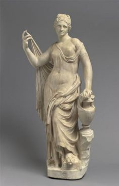 Aphrodite Statue  - Marble  2nd century. Roman Empire. Height: 1.06 m |   Photo (C) RMN-Grand Palais (musée du Louvre) / Hervé Lewandowski