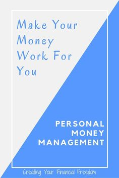 Are you working for your money or is your money working for you? Learn all of the tips and tricks to really make your money work for you. Get started now and don't miss out on this personal money management course.