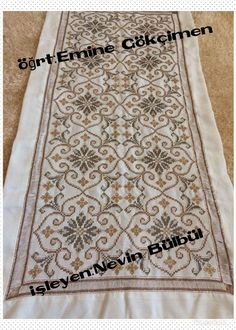 Bargello, Sewing Stitches, Hgtv, Cross Stitch Embroidery, Diy And Crafts, Projects To Try, Design, Dish Towels, Punto De Cruz
