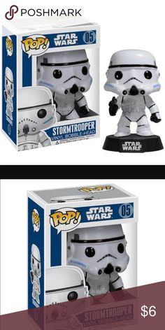Star Wars Funko Pop Stormtrooper New in box! Adorable and collectible Star Wars figure. Genuine Funko Pop. Funko Pop Accessories