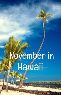 If you are considering a Hawaii vacation in November, you may want to examine all the important factors, such as weather, costs, crowds and special events. We'll look at each of those factors in detail to help you decide whether November is the best month for your visit to Hawaii. What's the...