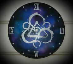 Custom Coheed and Cambria Record Clocks by McSkulligans on Etsy