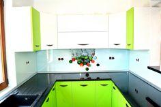 Kitchen Cabinets, Indoor, Design, Home Decor, Green, Interior, Decoration Home, Room Decor, Cabinets