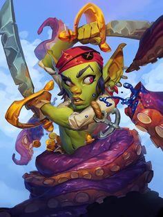#hearthstone #warcraft #gobelin #goblin
