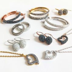 Swarovski crystals are front and center for fall in our Shimmer Collection.- ADORE, the creation of The Swarovski® Group - www.adorejewelry.com