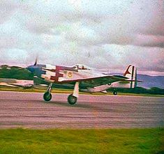 A Guatemalan Air Force P-51D Mustang in intresting paint scheme in the 1950's resembling that of the US Thunderbirds demostration team. P51 Mustang, Paint Schemes, Air Force, Painting, Paint Color Schemes, Painting Art, Paintings, Painted Canvas, Drawings