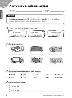 Refuerzo y ampliacion lengua 4º Spanish Grammar, Teaching Spanish, Spanish Language, Learning Activities, Teaching Resources, Spanish Worksheets, Spanish Classroom, Spanish Lessons, School Hacks