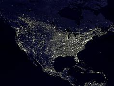 The USA from Space