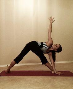 Triangle Pose » Yoga Pose Weekly