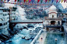 Manikaran, India: 1986, used to go for a bath in the hot springs when staying in Kasol
