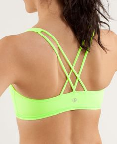 This little bra was made for sweaty power moves. -- on my wishlist for hot yoga gear