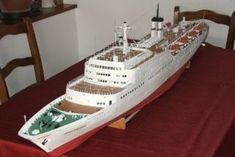 The Fritz Heckert ,the only passenger ship in the world, which possessed in addition to diesel engines, a gas turbine engine with free-pistons