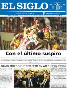 Diario El Siglo - Lunes 10 de Diciembre de 20 12