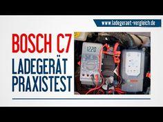 BOSCH C7  Batterie - Ladegerät  Test am Auto - 12V Autobatterie laden  kurz erklärt…