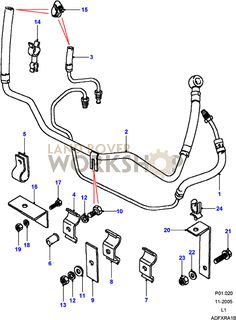 Defender  Steering Box  Adwest 4 Bold  Rovers North