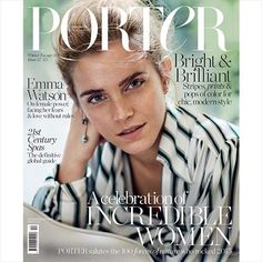 portermagazine:  COVER REVEAL: The talented and inspirational Emma Watson is #PORTERMagazine's new cover star. In the issue, the actress leads #PORTER's first 100 Incredible Women list – a unique tribute to women around the world. Photograph by @cassblackbird, fashion editor @alexwhiteedits