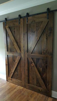 DUC Woodworks customizes Farmhouse Barn Doors at Hunt & Burrow Mercantile