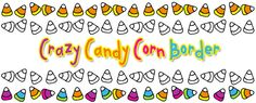 TRICK or TREAT!!! It's FREEBIE time!!! Use this CRAZY Candy Corn Border to add a colorful treat to your Halloween creations this year :) Border comes in black & white and TWO different colors. Enjoy! Sweet Smiles to YOU! Available only through 10/22/14!!
