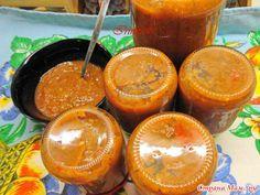 Кто просил рецепт острого соуса из помидоров и слив? Держите!