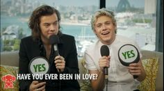 Harry Styles and Niall Horan: Who's Been in Love? Seen Band Members Naked?