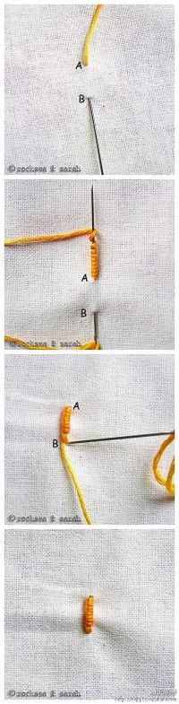Lots of stitches explained