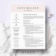 Professional Resume CV template for Ms Word & Mac Pages Cover Letter Format, Cover Letter Template, Cv Template, Resume Layout, Resume Cv, Resume Writing, Cv Design, Design Studio, Resume Design