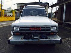 日産サファリターボ 昭和61年 4WD ウィンチ付 売り切り_画像1