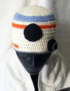 570af97cb36 Milk protein cotton yarn handmade BB8 BB8 hat fits 312 month old baby  Costume Hats