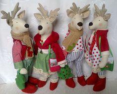 Cute Deer   Deer Tilda   Handmade deer cloth deer от SVToys