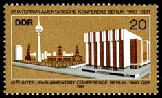 DDR stamp 1980