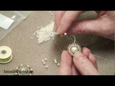 Video: How to Add a Decorative Beaded Edge to Bead Weaving. #Seed #Bead #Tutorials