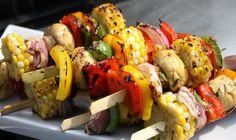 Vegan skewers. #Vegan or #Vegetarian sounds so similar!! But there are differences and similarities as well. Read it!!!