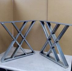 Design Dining Table Style Legs, Sturdy Steel Legs, Set of 2 Steel Legs Dining Table Legs, Steel Table Legs, Metal Legs For Table, Dining Sets, Table Desk, Black Door Handles, Wall Hung Vanity, Butcher Block Countertops, Diy Holz