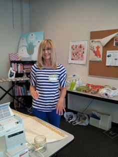 Pat - one of our pillowcase donors.
