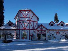 Santa Claus House in North Pole, Alaska- Trading post where children send letters