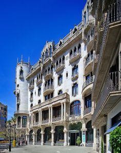 Casa Fuster | Barcelona, Spain | Lluís Domènech i Montaner | by Pete Sieger