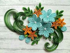 Quilling Craft, Quilling Designs, Paper Quilling, Quilling Ideas, Paper Art, Paper Crafts, Diy Crafts, Quilling Flowers Tutorial, Free Printable Coloring Sheets